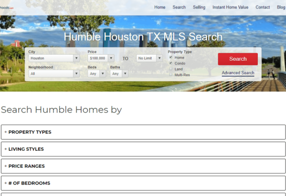 Houston-Neighborhoods Site Snapshot